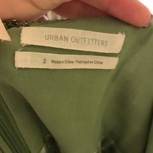 Urban Outfitters Dresses - Green plaid spaghetti strap dress